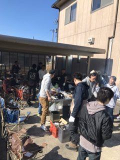 新年会~牡蠣祭り~